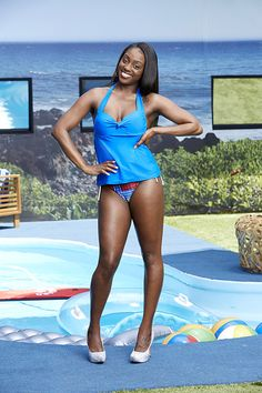 Big Brother 17 backyard picture of Da'Vonne Rogers.