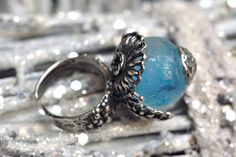The Winter's Tale by Kira Miroshnik on Etsy Unusual Wedding Gifts, Winter's Tale, Gemstone Rings, Turquoise, Gemstones, Etsy, Jewelry, Jewlery, Gems