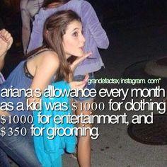 ♕ LUCKY!!!!!! Ariana Grande fact.