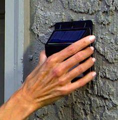 Foco Solar Luz Led con Sensor de Movimiento