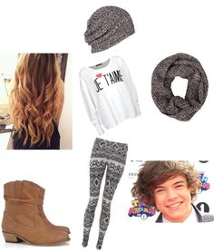 """""""Christmas with Harry"""" by crazyunie ❤ liked on Polyvore"""