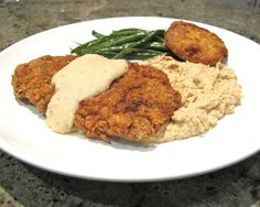 Chicken Fried Steak...low carb and delicious! / delicious wife