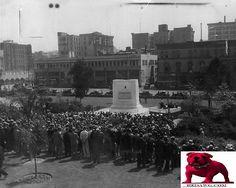 1933 Grecian Fountain Memorial City Hall Memorial Los Angeles California