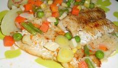 Rybie filé v zelenine