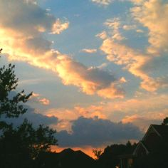Pictures of the sky <3