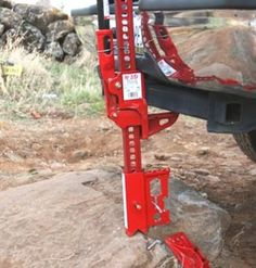 Amazon.com: JackMate Lift Jack Accessory - Fire Engine Red: Automotive