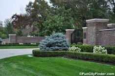 Neighborhood Entrance Landscaping Photos Subdivision