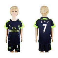 Arsenal Trøje Børn 16-17 Alexis Sanchez 7 3 trøje Kort ærmer  Alexis Sanchez 16/17