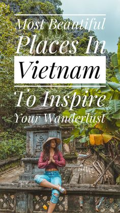 Vietnam is one of the most visually impressive countries we have ever laid eyes on. Set your wanderlust free and take a journey through the ultimate photo diary of The Most Beautiful Places In Vietnam! Cool Places To Visit, Places To Travel, Travel Destinations, Vietnam Travel Guide, Asia Travel, Laos, Vietnam Vacation, Visit Vietnam, North Vietnam