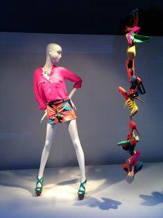 """Macy's NYC, """"Shoe Tree"""", pinned by Ton van der Veer"""