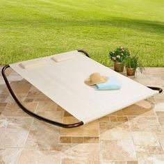 Tanning lounger!