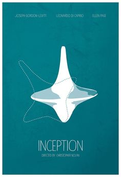 Inception (2010) ~ Minimal Movie Poster by Calm the Ham #amusementphile