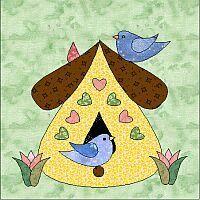 Birdhouse quilt | Birdhouse, App and Galleries : birdhouse quilts - Adamdwight.com