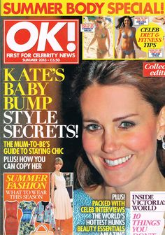 kate middleton in magazine Adele, Die Royals, Melanie Sykes, Royals Today, Kate Baby, Jane Goodall, Baby Bump Style, Summer Body, Miranda Kerr