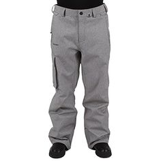 Volcom Mens Ventral Pant Heather Grey Medium >>> Want to know more, click on the image. (This is an affiliate link) #MensOutdoorClothing