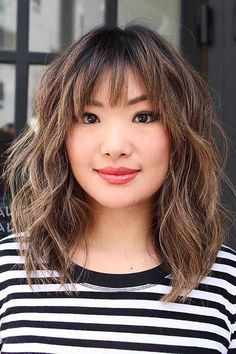 25 Latest Bob Hairstyles with Bangs 2017 The Best Short Hairstyles for Women 2017 - 2018 Bob Hairstyles With Bangs, Bob Haircut With Bangs, Short Hairstyles For Women, Messy Hairstyle, Bob Haircuts, Hairstyles 2018, Haircut Styles, Lob With Bangs, Natural Hairstyles