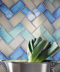 Shibori Green Tile