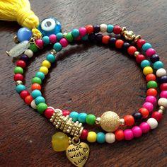 Lakshmi Custom Jewelry | Howlite set of bracelets