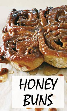 Honey Buns | Martha Stewart Living - Our favorite sticky bun and sweet roll recipes.