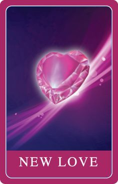 New Love Card - Card of the day.  Meaning new love coming into your life.  New passion in your life.