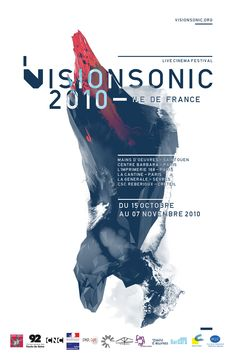 VisionSonic Ile de France Acrylic paint splatters that turn into a low poly design Graphic Design Layouts, Graphic Design Posters, Graphic Design Typography, Graphic Design Inspiration, Layout Design, Print Design, Branding, Gfx Design, Poster Layout