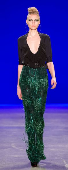 Naeem Khan Fall-winter - Ready-to-Wear Party Fashion, Fashion 2017, Couture Fashion, Runway Fashion, Spring Fashion, High Fashion, Fashion Trends, Naeem Khan, Christopher Kane
