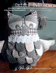 Oxford Owl by Sgillmanorr | Sewing Pattern