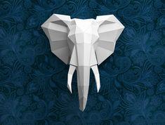 An elegant elephant! 2d elephant head template: paypal https://sellfy.com/p/j5IS/ visa, mastercard http://selz.co/1ONbqAv