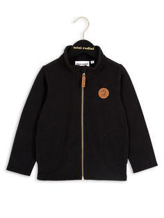 Mini Rodini – Fleece Jacket, black