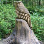 Barfusspark Hallwangen - Skulpturen im Wald