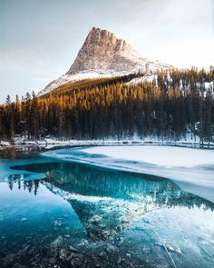 Simplicity marks the origin of Banff - Canada's first national park 🇨🇦. In on the slopes of the Canadian Rocky Mountains, three… Landscape Photography, Nature Photography, Travel Photography, Magical Photography, Time Photography, Landscape Art, Miyagi, Beautiful Places To Visit, Cool Places To Visit