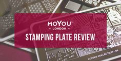 MoYou Stamping Plate Review