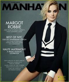 Celeb Diary: Margot Robbie in revista Manhattan (ianuarie/februarie 2014)