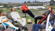 Get Me Outta Here, F1 Motorsport, Burst Out Laughing, Bad Memes, Thing 1, F1 Drivers, F1 Racing, World Of Sports, Car Humor