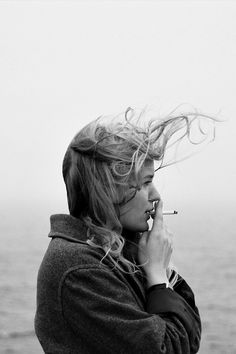 endless   #hair blowing in the wind  #cigarette