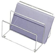 Kantek Acrylic Mini Sorter, 6 x 4 x 4 Inches, Clear (AD50)