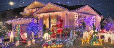 Christmas lights galore