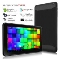 ProntoTec offer ProntoTec 9 Inch HD Android Tablet PC, Cortex A9 Dual Core 1.2 Ghz, HD (1024 x 600 Pixel) Touch Screen, Android 4.2 OS, 8G Nand Flash, DDR3 1GB RAM, Dual Cameras, Wi-Fi, G-Sensor (Black). This awesome product currently limited units, you can buy it now for  $88.98, You save - New