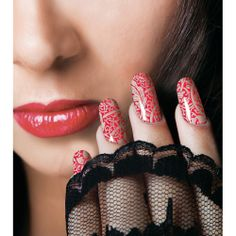 Stijlvolle, chique nagels in slechts enkele minuten met de Lace nagellak folie van Rio