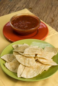 Copycat Chipotle Recipe: Lime Tortilla Chips | This easy chip recipe is so good! I want to dip it in all of my salsas and guacamoles.