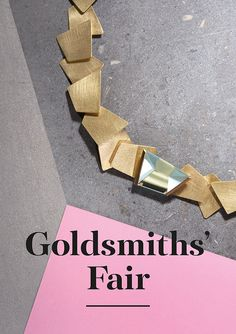Goldsmiths' Fair 2016 -  Week 1 – Tuesday 27 September – Sunday 2 October Week 2…