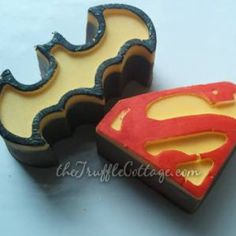the truffle cottage chocolate batman superman
