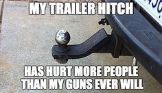 Lol so true. People hit their shins on it or run their cars into it. It has definitely saved us from a few car accidents.