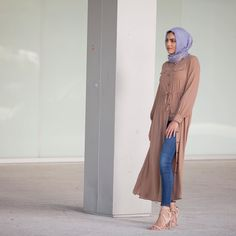 """692 Likes, 17 Comments - Verona Collection (@veronacollection) on Instagram: """"Silvia maxi cardigan in taupe. www.verona-collection.com #verona #veronacollection #hijab…"""""""