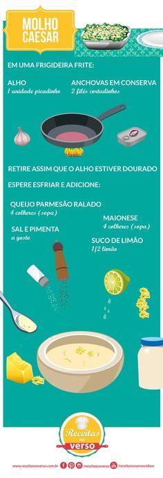 recipes in a mug I Love Food, Good Food, Yummy Food, Chutney, Menu Dieta, Cooking Recipes, Healthy Recipes, Portuguese Recipes, Food Illustrations