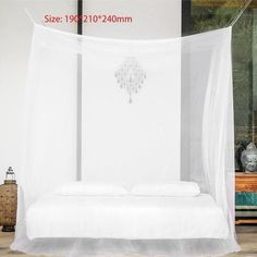 OUTAD Large Size 190*210*240mm Mosquito Net Bug Insect Repeller Box Shape Travel Camping Home Four door