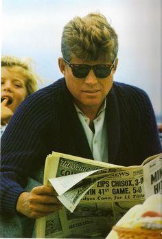 JFK and Caroline <3