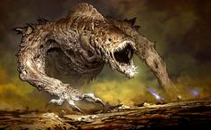Undead Globster Boss (concept art) from Guild Wars 2.