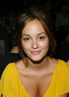 Leighton Meester - pretty natural makeup