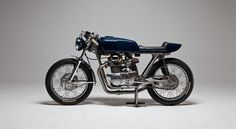 Beautiful Honda CB350 Cafe Racer 1969 by Twinline Motorcycles #caferacer #honda #motos | caferacerpasion.com